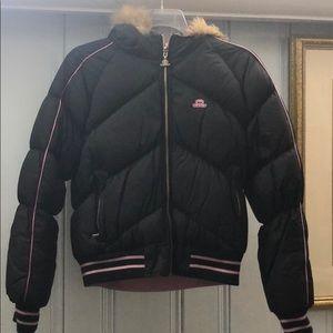 JLO Jennifer Lope Reversible Jacket Pink/Black